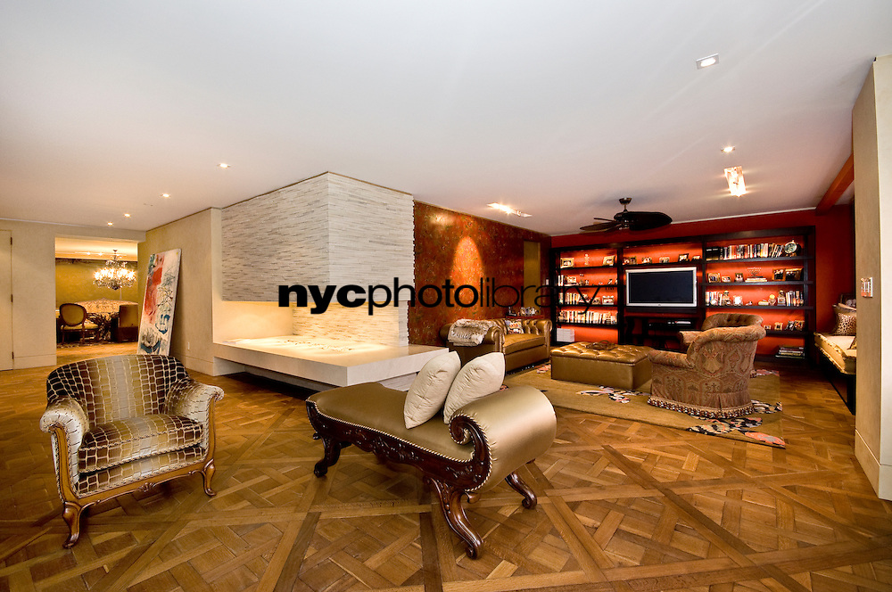 Living Room at 785 Fifth Avenue