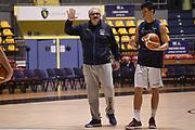 Romeo Meo Sacchetti, Simone Fontecchio<br /> Nazionale Italiana Maschile Senior - Allenamento<br /> FIP 2017<br /> Torino, 20/11/2017<br /> Foto M.Ceretti / Ciamillo-Castoria