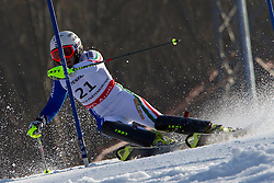 19.02.2011, Gudiberg, Garmisch Partenkirchen, GER, FIS Alpin Ski WM 2011, GAP, Damen, Slalom, im Bild Nicole Gius (ITA) // Nicole Gius (ITA) during Ladie's Slalom Fis Alpine Ski World Championships in Garmisch Partenkirchen, Germany on 19/2/2011. EXPA Pictures © 2011, PhotoCredit: EXPA/ M. Gunn