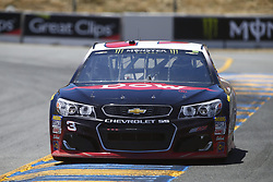 June 23, 2017 - Sonoma, CA, United States of America - June 23, 2017 - Sonoma, CA, USA: Austin Dillon (3) takes to the track to practice for the Toyota/Save Mart 350 at Sonoma Raceway in Sonoma, CA. (Credit Image: © Justin R. Noe Asp Inc/ASP via ZUMA Wire)