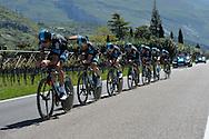 39° Giro del Trentino Melinda  1 TAPPA CRONOSQUADRE RIVA DEL GARDA ARCO 13.30KM team Sky,  21-04-2015 © foto Daniele Mosna