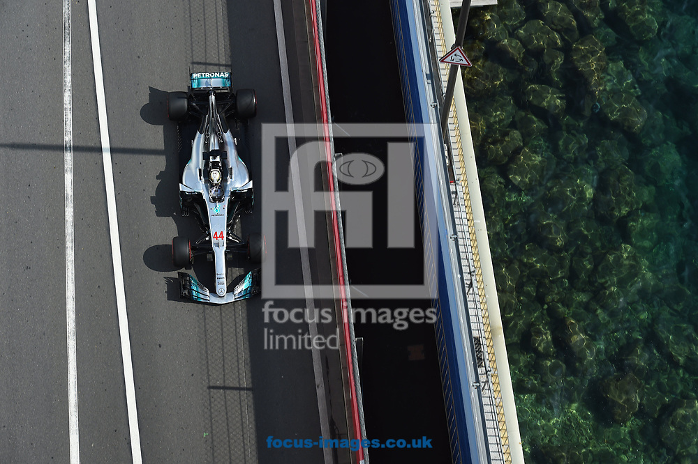 Lewis Hamilton of Mercedes AMG Petronas during the practice session for the 2017 Monaco Formula One Grand Prix at the Circuit de Monaco, Monte Carlo<br /> Picture by EXPA Pictures/Focus Images Ltd 07814482222<br /> 25/05/2017<br /> *** UK &amp; IRELAND ONLY ***<br /> <br /> EXPA-EIB-170525-0177.jpg