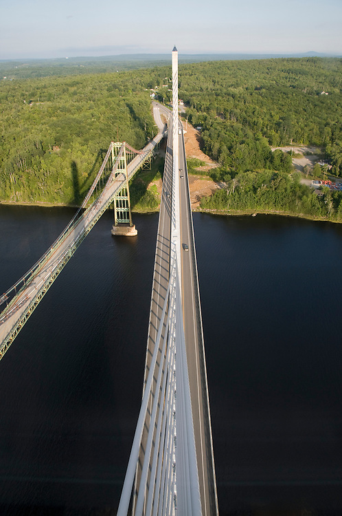 Penobscot Narrows Bridge - Bucksport Maine USA