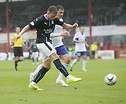 Greg Stewart puts Dundee two ahead - Dundee v Peterhead, League Cup at Dens Park<br /> <br />  - &copy; David Young - www.davidyoungphoto.co.uk - email: davidyoungphoto@gmail.com