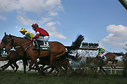 National Winner Tiger Roll and Davy Russell (13) and Fourth Placed Anabele Fly negotiate Canal Turn in The Randox Health Grand National on Grand National Day at at Aintree, Liverpool, United Kingdom on 14 April 2018. Picture by Craig Galloway.