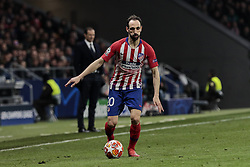 February 20, 2019 - Madrid, Madrid, Spain - Atletico de Madrid's Juanfran Torres during UEFA Champions League match, Round of 16, 1st leg between Atletico de Madrid and Juventus at Wanda Metropolitano Stadium in Madrid, Spain. February 20, 2019. (Credit Image: © A. Ware/NurPhoto via ZUMA Press)