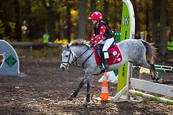 Goeminne Marie-Joëlle, BEL, Mister Magic<br /> LRV Ponie cross - Zoersel 2018<br /> © Hippo Foto - Dirk Caremans<br /> 28/10/2018