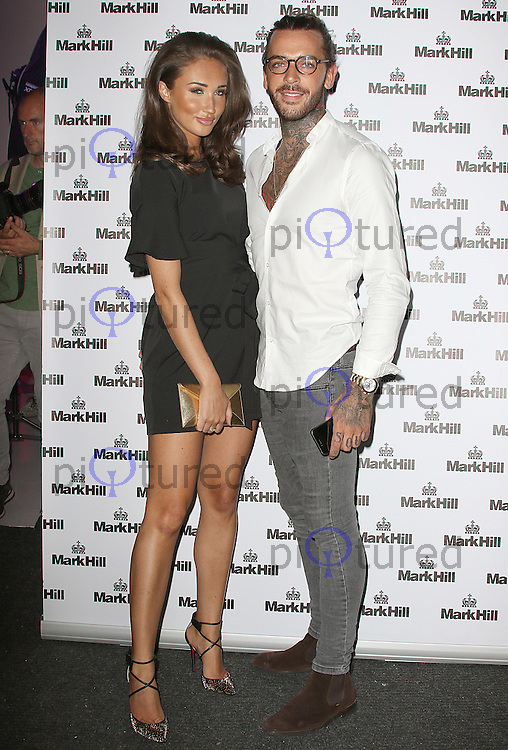 Megan McKenna & Pete Wicks, Mark Hill - Pick 'N' Mix Party, The Ice Tank, London UK, 27 July 2016, Photo by Brett D. Cove
