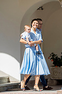Borgholm, 14-07-2017 <br /> <br /> <br /> Crown Princess Victoria celebrates her 40th birthday at Soliden Palace<br /> <br /> <br /> COPYRIGHT: ROYALPORTRAITS <br /> EUROPE/ BERNARD RUEBSAMEN