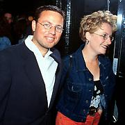 Premiere Siberia Tuschinski, Joost Buitenweg en vrouw Anouk