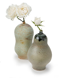 ceramic flower bud vase