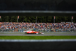 August 27, 2017 - Spa, Belgium - 05 VETTEL Sebastian from Germany of scuderia Ferrari passing trought the fans  during the Formula One Belgian Grand Prix at Circuit de Spa-Francorchamps on August 27, 2017 in Spa, Belgium. (Credit Image: © Xavier Bonilla/NurPhoto via ZUMA Press)