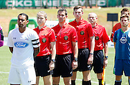 July 23, 2016: OKC Energy FC U23 plays the Midland/Odessa Sockers FC in the USL PDL Southern Conference final game at Taft Stadium in Oklahoma City, Oklahoma.