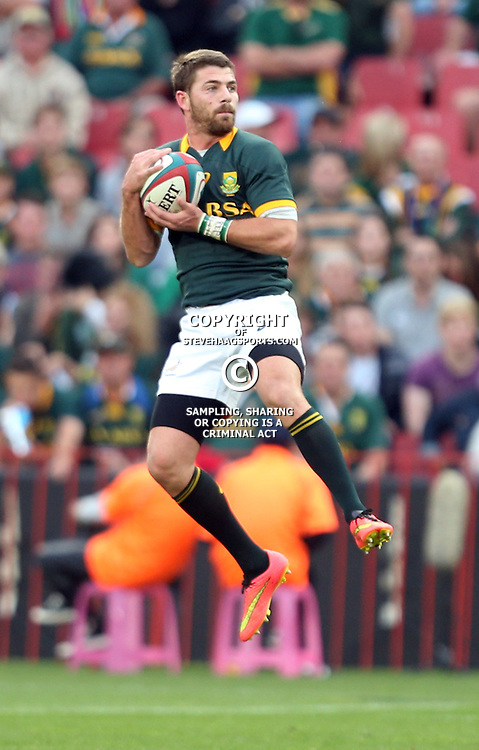 JOHANNESBURG, SOUTH AFRICA - OCTOBER 04: Willie le Roux of South Africa during The Castle Rugby Championship match between South Africa and New Zealand at Ellis Park on October 04, 2014 in Johannesburg, South Africa. (Credit Steve Haag/Gallo Images)