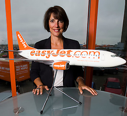 © Licensed to London News Pictures. 19/11/13. Budget airline Easyjet has reported a rise of 50.9% in annual profits to £478m <br /> <br /> FILE PHOTO dated 23/07/2011. Carolyn McCall OBE. Chief Executive Officer (CEO) of easy jet. Pictured here at the easyjet headquarters at Luton Airport, Bedfordshire, UK. Photo credit: Ben Cawthra.
