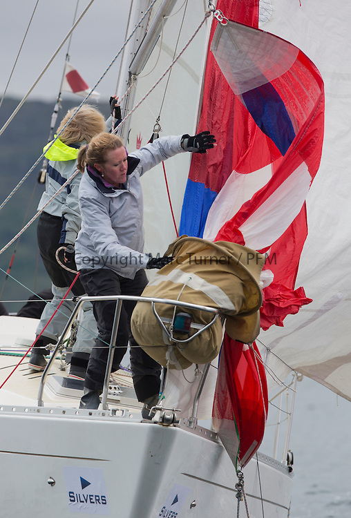 Day one of the Silvers Marine Scottish Series 2016, the largest sailing event in Scotland organised by the  Clyde Cruising Club<br /> Racing on Loch Fyne from 27th-30th May 2016<br /> GBR4270, Sigmatic, Donald &amp; Anita Mclaren, Helensburgh SC<br /> <br /> <br /> Credit : Marc Turner / CCC<br /> For further information contact<br /> Iain Hurrel<br /> Mobile : 07766 116451<br /> Email : info@marine.blast.com<br /> <br /> For a full list of Silvers Marine Scottish Series sponsors visit http://www.clyde.org/scottish-series/sponsors/