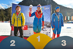 Podium at the 2014 IPC Nordic Skiing World Cup Finals - Middle Distance