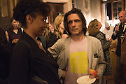 JEREMY DELLER, Okwui Enwezor and Vinyl Facorty hosted party at Ca'Sagredo, Campo Santa Sofia Venice Biennale, Venice. 5 May 2015