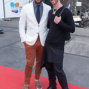 NLD/Amsterdam/20130712 - AFW2013 Zomer editie, modeshow Spijkers & Spijkers, Janice en Jordy van Toornburg van Adlicious
