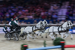 Chardon IJsbrand (NED)<br /> FEI World Cup Driving<br /> Flanders Christmas Jumping - Mechelen 2012<br /> © Dirk Caremans
