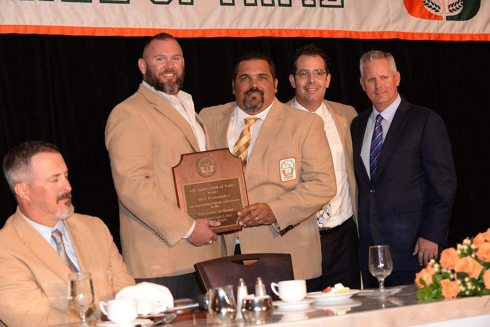 2015 University of Miami Sports Hall of Fame Induction Banquet