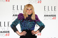 Paloma Faith, ELLE Style Awards 2016, Millbank London UK, 23 February 2016, Photo by Richard Goldschmidt