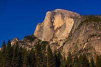 Half Dome, Yosemite Valley, Yosemite National Park, California USA.