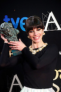 021713 goya 2013 awards press room