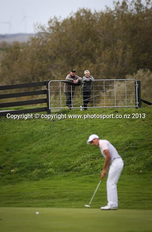 On day 2 of the 2013 New Zealand Amateur Championship, Manawatu Golf Club, Palmerston North, New Zealand. Thursday 25 April 2013. Photo: John Cowpland / photosport.co.nz