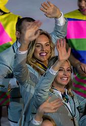 05-08-2016 BRA: Olympic Games day -1, Rio de Janeiro<br /> Openingsceremonie van de Olympische Spelen in Rio / dans, muziek, show en eenboodschap aan de wereld -
