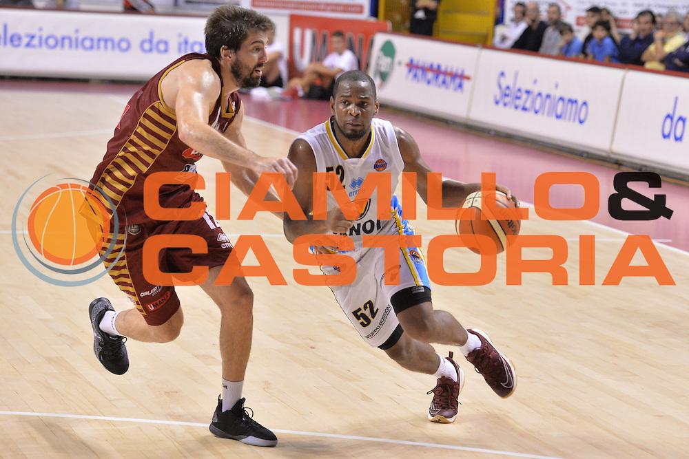 Tu Holloway<br /> Umana Reyer Venezia - Vanoli Cremona<br /> Lega Basket Serie A 2016/2017<br /> Venezia 30/10/2016<br /> Foto Ciamillo-Castoria