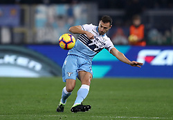 February 7, 2019 - Rome, Italy - Ss Lazio v Empoli Fc - Serie A.Stefan Radu of Lazio at Olimpico Stadium in Rome, Italy on February 7, 2019. (Credit Image: © Matteo Ciambelli/NurPhoto via ZUMA Press)