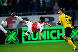 23-10-2009 VOETBAL: FC UTRECHT - RODA: UTRECHT<br /> Utrecht wint met 2-1 van Roda / Mark van Maarel<br /> ©2009-WWW.FOTOHOOGENDOORN.NL