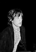 The Rolling Stones Charlie is my Darling - Ireland 1965 -..Mick Jagger at The Rolling Stones press conference at the Adelphi Theatre, Middle Abbey Street, Dublin. This was the band's first Irish tour of 1965...07/01/1965.01/07/1965.07 January 1965.Romantic gifts of Limited Edition Prints of Mick Jagger, The Rolling Stones, Charlie is my Darling, Ireland 1965.  <br />