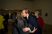 ZAHA HADID; SIMON DE PURY, Francis Bacon opening private view and dinner. Tate Britain. 8 September 2008 *** Local Caption *** -DO NOT ARCHIVE-© Copyright Photograph by Dafydd Jones. 248 Clapham Rd. London SW9 0PZ. Tel 0207 820 0771. www.dafjones.com.