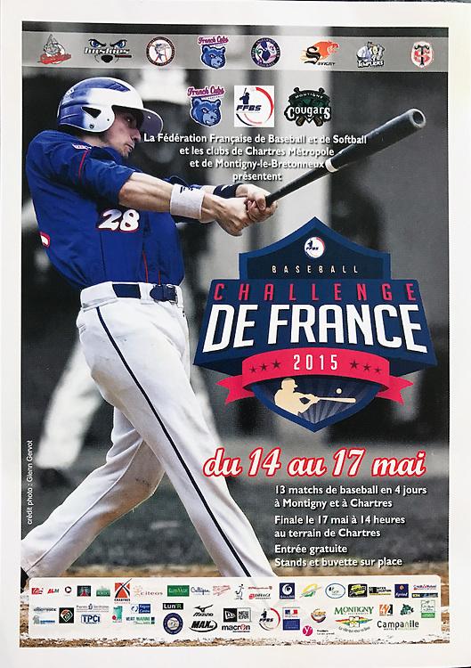 Sylvain Perrin, Challenge de France street advertising poster, 2015.