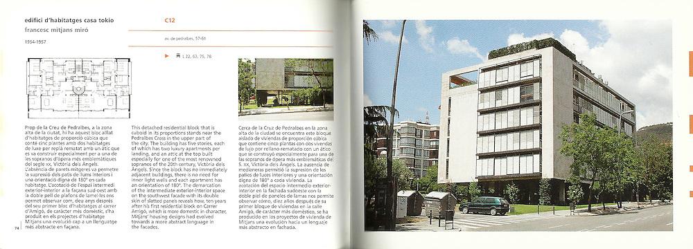 Edifici d'habitatges Casa Tokio_F.Mitjans Miró