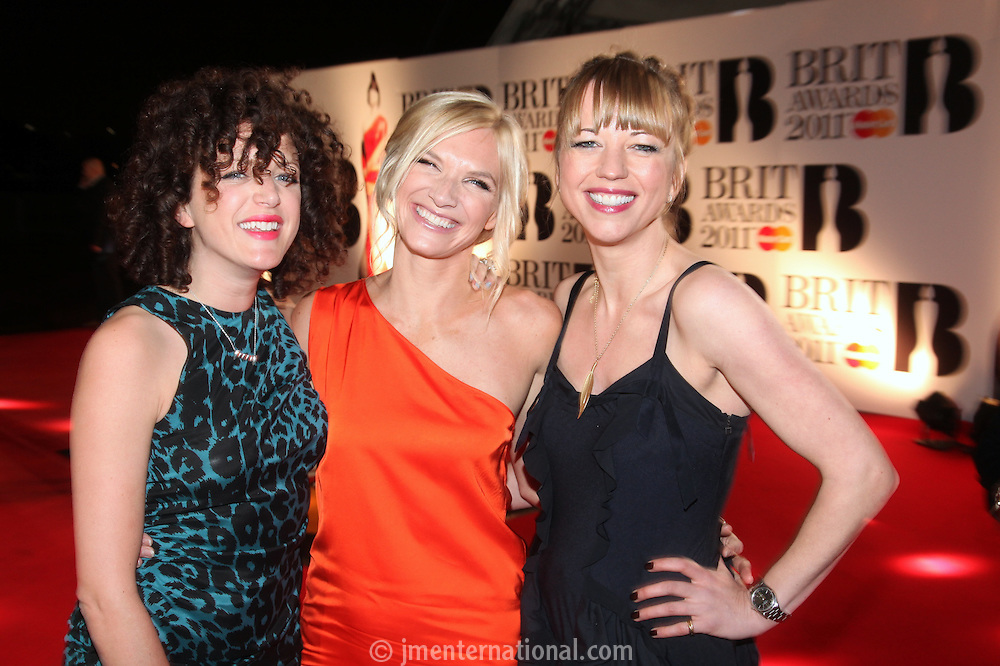 Annie Mac, Jo Whiley and Sara Cox