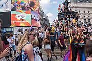 Gay Pride 2018, Soho, London. 7 July 2018