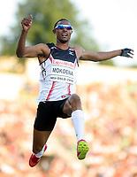 Friidrett , 6. juni 2008 , Golden League , Bislett Games<br /> Godfrey Khotso Mokoena , lengde