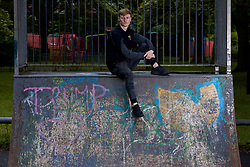 CHESTER, ENGLAND - Friday, June 30, 2017: A portrait of Eton College student Shaun Shrigley pictured at Cop Park in Chester. (Pic by David Rawcliffe/Propaganda)