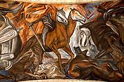 MEXICO, GUADALAJARA, MURALS Orozco's 1939 Horsemen of Apocalypse