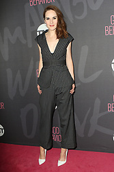 November 14, 2016 - New York, New York, United States - Actress Michelle Dockery arriving at the premiere of 'Good Behavior' at the Roxy Hotel on November 14, 2016 in New York City  (Credit Image: © Nancy Rivera/Ace Pictures via ZUMA Press)