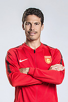 **EXCLUSIVE**Portrait of Brazilian soccer player Hernanes of Hebei China Fortune F.C. for the 2018 Chinese Football Association Super League, in Marbella, Spain, 26 January 2018.