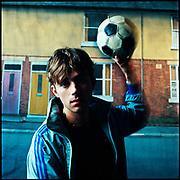 Damon Albarn of Blur, London 1990s