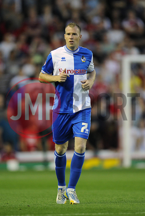 Bristol Rovers' David Clarkson  - Photo mandatory by-line: Joe Meredith/JMP - Tel: Mobile: 07966 386802 04/09/2013 - SPORT - FOOTBALL -  Ashton Gate - Bristol - Bristol City V Bristol Rovers - Johnstone Paint Trophy - First Round - Bristol Derby