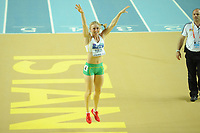 ATHLETICS - WORLD CHAMPIONSHIPS INDOOR 2012 - ISTANBUL (TUR) 09 to 11/03/2012 - PHOTO : STEPHANE KEMPINAIRE / KMSP / DPPI - <br /> 60 M HURDLES - FINALE - GOLD MEDAL - SALLY PEARSON (AUS)