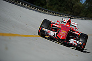 September 3-5, 2015 - Italian Grand Prix at Monza: Ferrari SF15-T on the old Monza banking