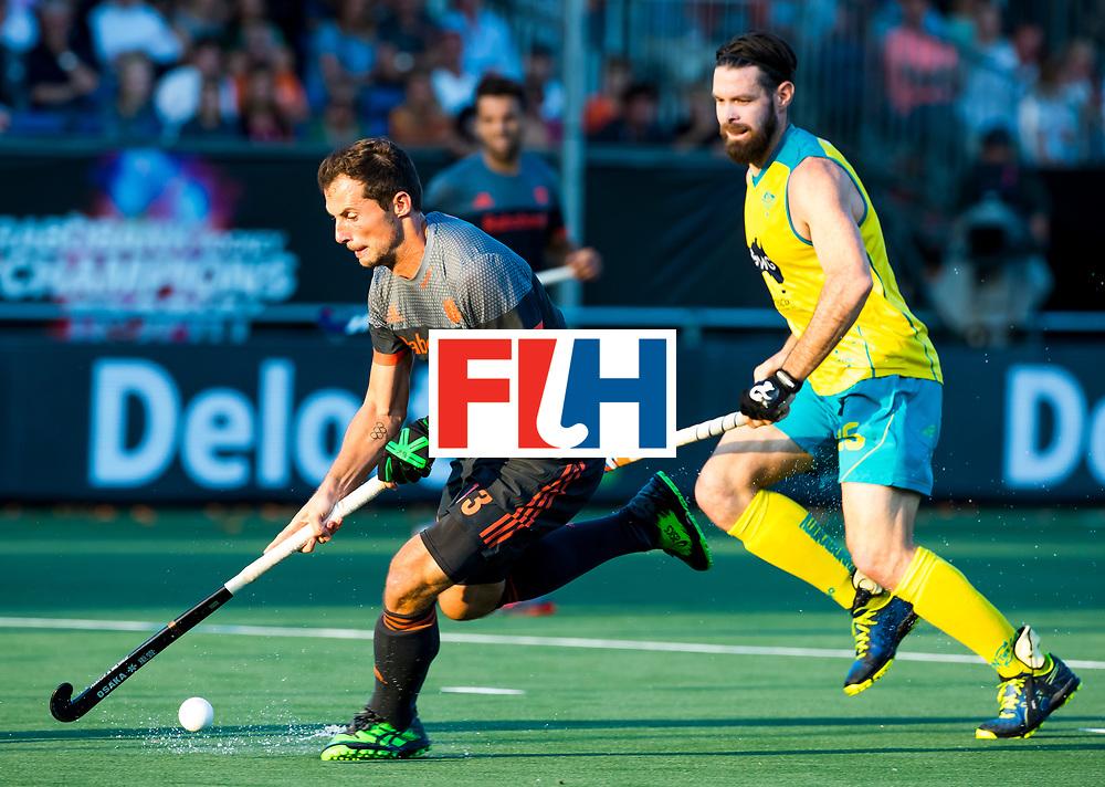 BREDA - Sander Baart (Ned)    tijdens Nederland- Australie bij  de Hockey Champions Trophy. COPYRIGHT KOEN SUYK