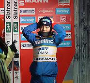 Sara Takanashi (in Lillehammer)